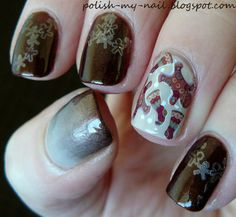 Gingerbread cookies by ewlyn #nails #nailart #nailpolis