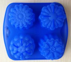Find More Cake Molds Information about Free shipping Lotus shape Muffin Sweet Candy Jelly fondant Cake chocolate Mold Silicone tool Baking Pan DIY,High Quality tool shaped cake pan,China pan temperature Suppliers, Cheap tool plastic from YI WU GOOD DEAL CO., LTD on Aliexpress.com