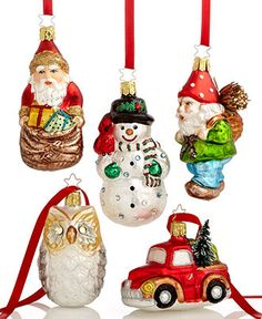 Inge-Glas Christmas Ornaments Collection - Holiday Lane