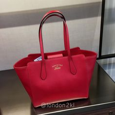 We are heading to Bicester Village on Tuesday 31st January 2017. Small Swing Red RM2,620 ❤it?  WhatsApp me  for orders now.  Once it's gone, it's gone!  See even more #L2KLbv #L2KLbv #L2KLbv
