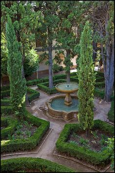 Courtyard Garden by seagr112, via Flickr