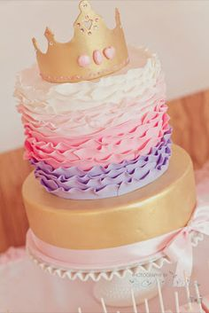 Little Big Company | The Blog: Pink Royal Princess Party for Milanias 1st Birthday by Natalie.