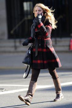 Blake Lively...love these boots!
