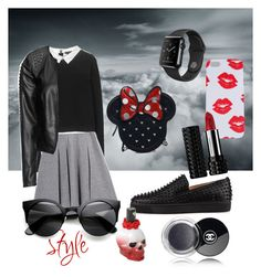 """Без названия #7"" by juliya-i on Polyvore featuring мода, Alice + Olivia, FWSS, Zizzi, Chanel, Kat Von D и Loungefly"