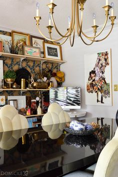 Before and After: A Well-Curated Workspace - Domicile 37