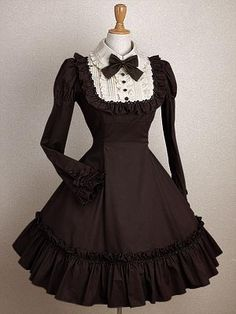 Classic Lolita: Mary Magdalene St. Claire One-Piece in Mini Length | {Words of Songs}