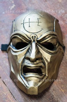 inspired Overseer Dishonored mask cosplay fan art by Maskforsale
