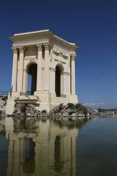Montpellier - France//Lived here for a year and the public buildings are really works of Art! This is at the Aquaduct.