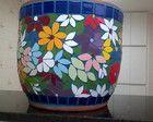 Vaso em mosaico