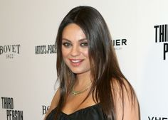 Mila Kunis Shows Off Baby Bump in Mini Dress on the Red Carpet