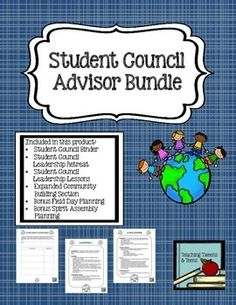 This is the ultimate guide to get you on track for a successful year as a student council (or other student group) adviser.  I have combined my Organizational Binder, Leadership Lessons, and Leadership Retreat products along with a few features not available in these products when purchased separately.