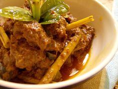 Indonesian Recipes : Meat Rendang. Please visit http://icooking.info/indonesian-recipes-meat-rendang/ to see the recipes