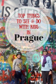 Prague with Kids - Keeping kids happy and active in this beautiful city.