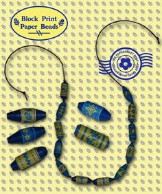 How to Make Paper Beads with Printable Templates | AllFreePaperCrafts.com