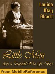 Little Men by Louisa May Alcott  http://www.bookchums.com/free-ebooks/little-men-by-louisa-may-alcott/MjY5OA==.html