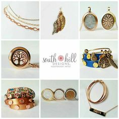 So much more than lockets.  Let me make you unique. www.southhilldesigns.com/karenjohnson