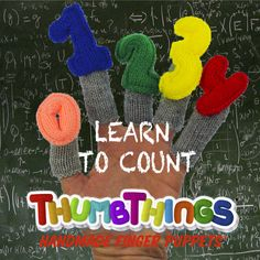 Learning Is As Easy As 1-2-3! Learn to Count finger puppets are an interactive counting game for preschoolers designed to teach and reinforce the concept of counting. Suitable for teaching to early ye