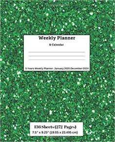 Amazon.com: Weekly Planner & Calendar, 5 Years Planner: January 2020-December-2024 (9781696492966): Ricky Lee: Books