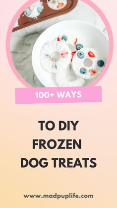 Some of my most popular posts on the blog have to do with frozen dog treats! I get it, who doesn't love a good recipe that's simple, can be done quickly, and enjoyed by both you and your pup? (most of the time) Check out this complete list with over 100 dog treat combinations! Best Treats For Dogs, Diy Dog Treats, Homemade Dog Treats, Dog Treat Recipes, Dog Food Recipes, Cake Pop Molds, Frozen Dog Treats, Diy Dog Collar, Donut Shape