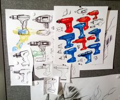 MONDO SKETCHES / Background sketches & thoughts by William Usher, via Behance