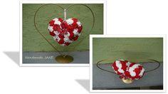 dekoracia srdce v stojane