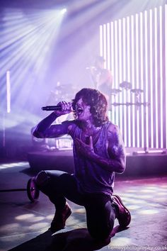 Oli Sykes, Bring Me The Horizon - Doncaster Dome 26th November 2015 - Tierney…