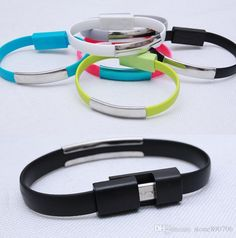 Bracelet cable Apply Micro android samsung millet huawei cable noodles V8 USB cable 100pcs  http://www.dhgate.com/store/product/bracelet-cable-apply-micro-android-samsung/256611079.html $1.3-1.56
