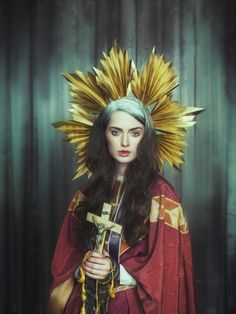 http://www.darkbeautymag.com/2013/06/pierre-manning-religious-view/?pid=1703 Photographer: Pierre Manning Stylist: Lacy Barry Makeup: Mania