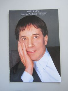Paul Simon Born At The Right Time Tour Concert Program 1991 by TheVinylGarage on…