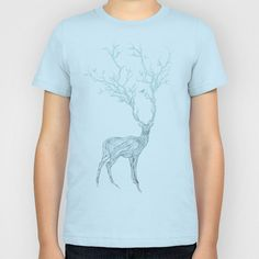 Blue Deer Kids T-Shirt