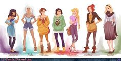 More Hipster Princesses.