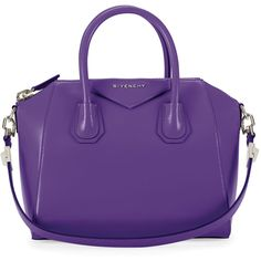 Givenchy Antigona Small Leather Satchel Bag ($2,280) ❤ liked on Polyvore