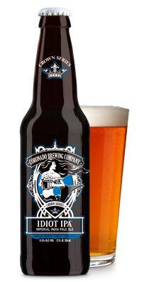 Cerveja Coronado Idiot IPA, estilo Imperial / Double IPA, produzida por Coronado Brewing, Estados Unidos. 8.5% ABV de álcool.