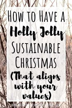to Have a Holly, Jolly Sustainable Christmas (That Aligns with your Values) how to have a sustainable, eco-friendly christmas.how to have a sustainable, eco-friendly christmas. Sustainable Gifts, Sustainable Living, Sustainable Energy, Green Living Tips, Green Christmas, Christmas Place, Coastal Christmas, Retro Christmas, Scandinavian Christmas
