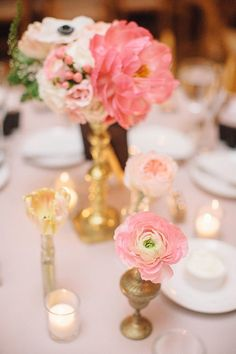 Romantic+wedding+florals+|+Wedding+