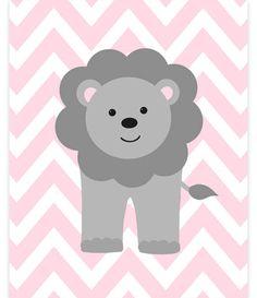 Lion Nursery Art, Lion Canvas, Nursery Wall Art, Canvas Print, Zoo Nursery, Baby Girl Room, Baby Shower Gift, Baby Room Decor, Jungle Decor by SweetPeaNurseryArt on Etsy
