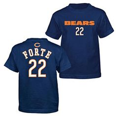 Get this Chicago Bears Matt Forte Youth Primary Gear T-Shirt at ChicagoTeamStore.com