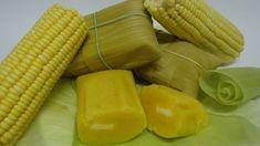 pamonha-doce Tamales, Deserts, Food And Drink, Vegetables, Cooking, Recipes, Killua, Creme, Veggie Food