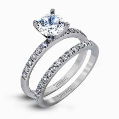 MR1686 Engagement Ring | Simon G. Jewelry