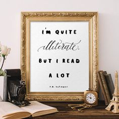 J. D. Salinger quote Holden Caulfield quote by QuotesandProse