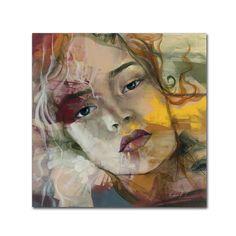 Andrea 'Te Recuerdo' Canvas Art