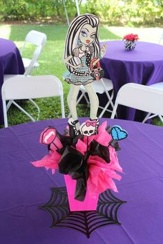 Monster High Birthday Party Ideas | Photo 4 of 85 | Catch My Party