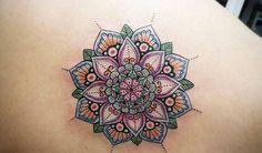 14 Ideas de Tatuajes de Mandalas para mujeres - Mujer y Estilo Wrist Tattoos, Tatoos, Design Tattoo, Mandala Tattoo, Henna, Floral, Reiki, Piercing, Tattoo Ideas