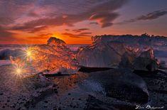 L'image du jour : L'Islande une terre de feu et glace