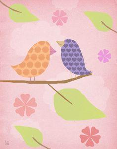 Birds II Canvas Art