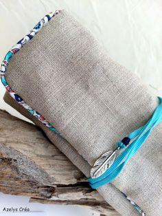 petite pochette en lin Erneste et celeste selon Azelys Bags, World Animals, Handbags, Bag, Totes, Hand Bags