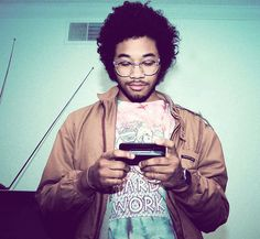 Chaz from Toro Y Moi & glasses