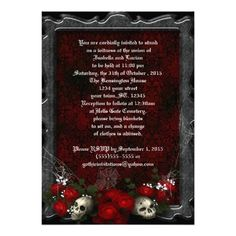DealsSkulls and Roses Goth Wedding InvitesWe provide you all shopping site and all informations in our go to store link. You will see low prices on
