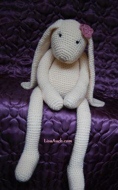 Amigurumi Floppy Bunny Pattern : Crochet Bunny on Pinterest Amigurumi, Crocheting and ...