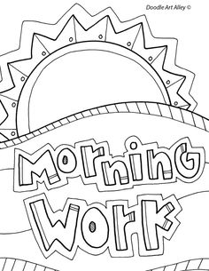 Other Binder Coloring Pages for School - Classroom Doodles
